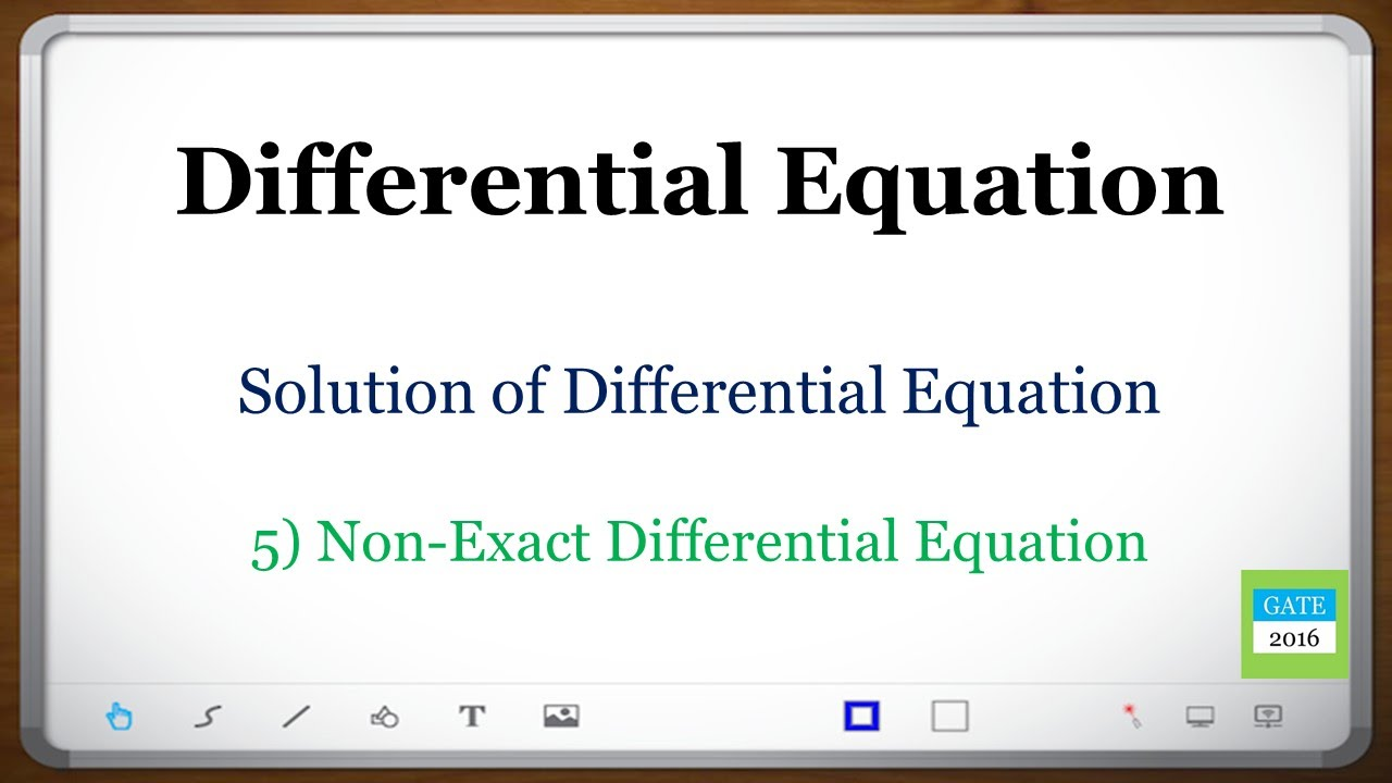 how to find solutions of exact eqn