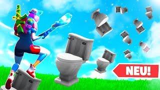 Toiletten Jump and Run in Fortnite Creative Mode!