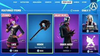 """NEW """"LACE"""" SKIN STYLE in Fortnite! - Fortnite Item Shop (January 12th, 2020)"""
