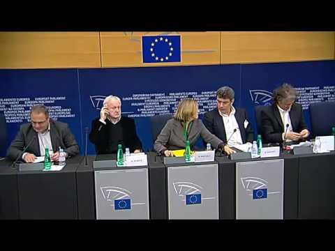 Boris Nemtsov in European Parliament (02.16.2011)
