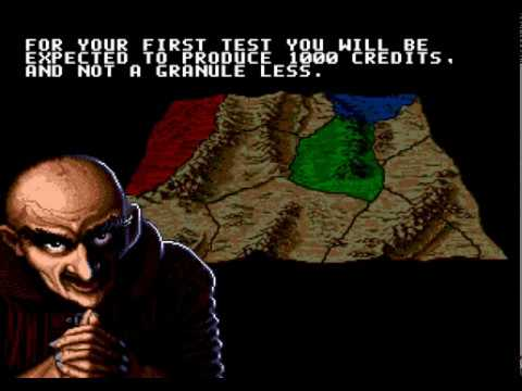 Dune: The Battle For Arrakis - Harkonnen Campaign Walkthrough Complete (Sega Genesis)