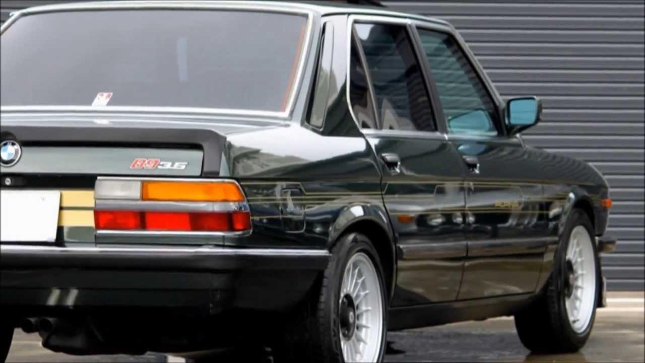 83 アルピナb9 3 5 Bmw E28 Type Highway Star Garage 83