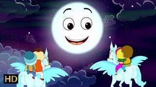 Chanda mama aao na (चंदा मामा) | hindi nursery rhyme for children | shemaroo kids hindi