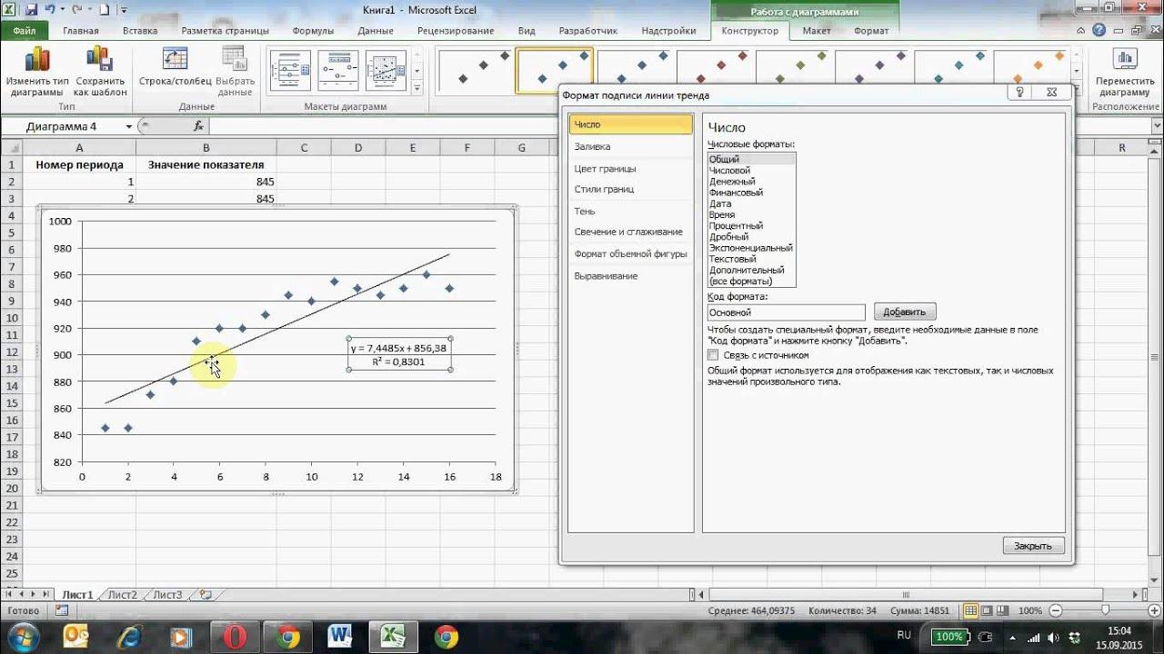 инструкция как создать график в ворде