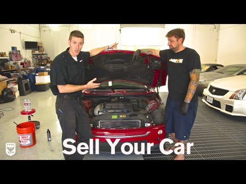 Detail and Sell Your Car: Drive Clean