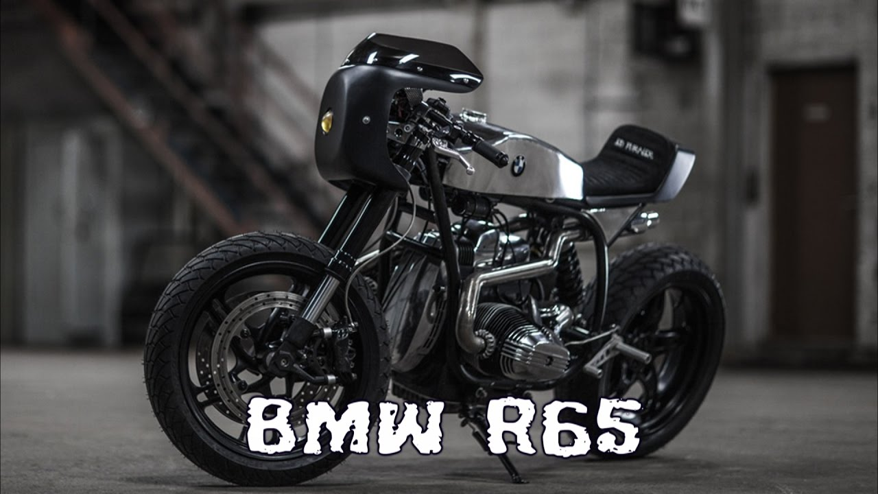 Bien connu BMW R65 cafe racer - YouTube DY47