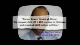 """DeVos and China"" - 2006 Jennifer Granholm for Governor"