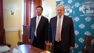 СПбГИКиТ и Хайнаньский педагогический университет подписали договор о сотрудничестве  (27 06 2017)