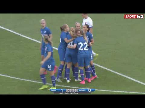 Iceland vs Slovakia * Women NT * OBS