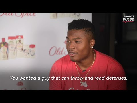 Dwayne Haskins on being black pocket passer: people aren't used to that