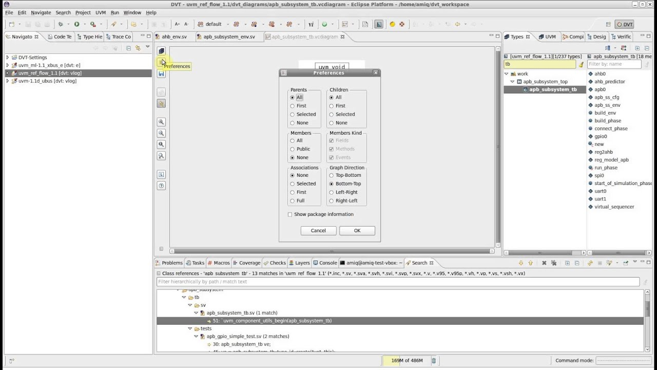 dvt eclipse ide types view how to create a class diagram [ 1280 x 720 Pixel ]