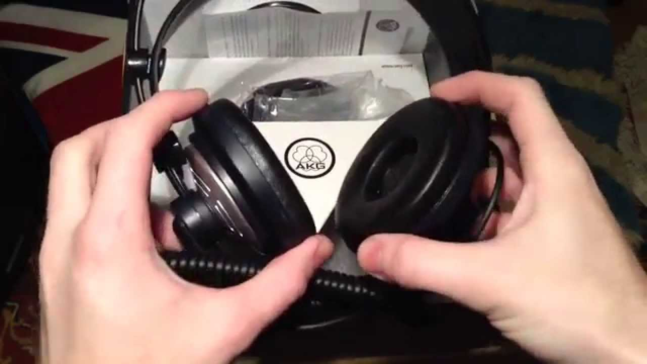 aedbe36eaf7 AKG K141 Mk ii - Unboxing and Review - YouTube