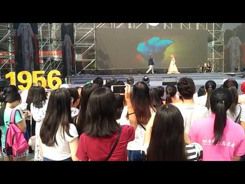 fashion show in chongqing medical university //international culture festival
