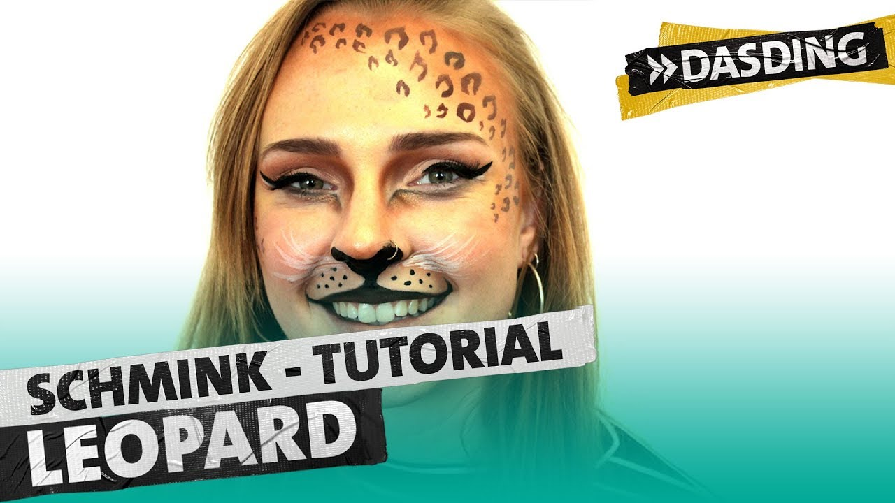 Karnevals Tutorial Schmink Dich Als Leopard Dasding Koblenz Youtube