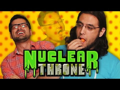 Sony's Shuhei Yoshida eats a habanero while discussing Nuclear Throne ... and weeping