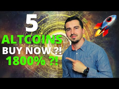 Top 5 Altcoins Ready To EXPLODE in September 2021🚀| BEST Crypto NOW 1800% ?! CRYPTO NEWS ATH ?!😱