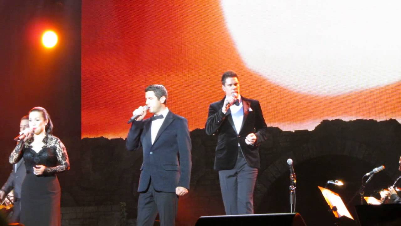 Il divo lea salonga can you feel the love tonight - Il divo man you love ...