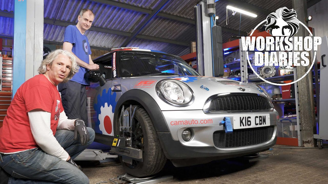 Edd China's Workshop Diaries Episode 11 (2007 BMW Mini Cooper Rally Suspension Upgrade)