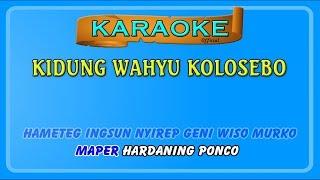 Gambar cover KIDUNG WAHYU KOLOSEBO ~ karaoke