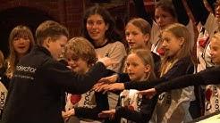 Weltrekord in Rostock: Mega-Kinderbuch zum 600. Universitätsgeburtstag