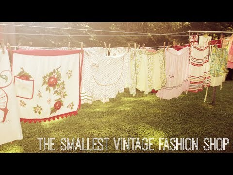 Folk Fairytale: The World's Smallest Vintage Fashion Store
