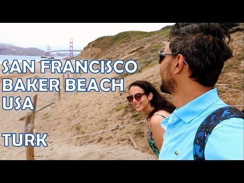 Baker Beach San Francisco USA - Baker plajı ABD
