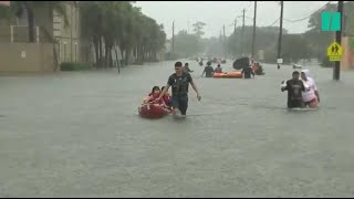 Le Texas victime d'inondations d'une ampleur historique