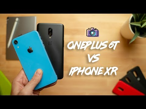 OnePlus 6T vs iPhone XR Camera Comparison!