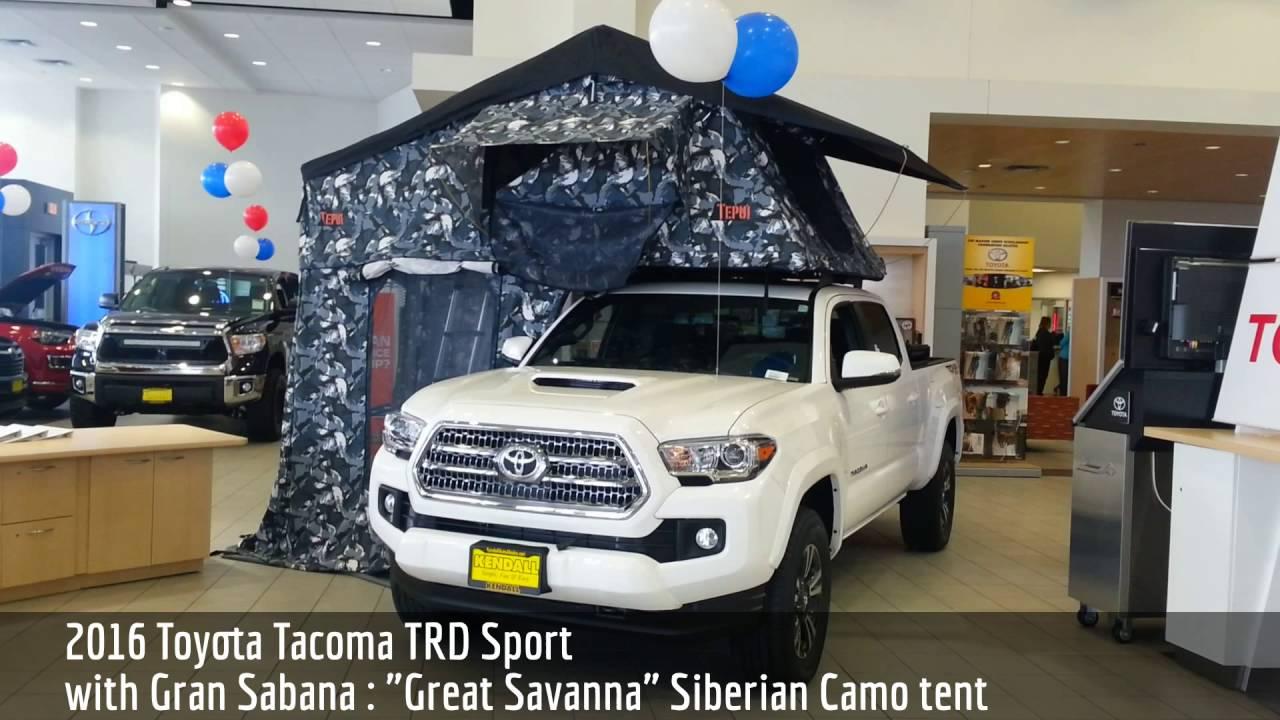 2016 Toyota Tacoma Trd Sport With Tepui Gran Sabana Tent