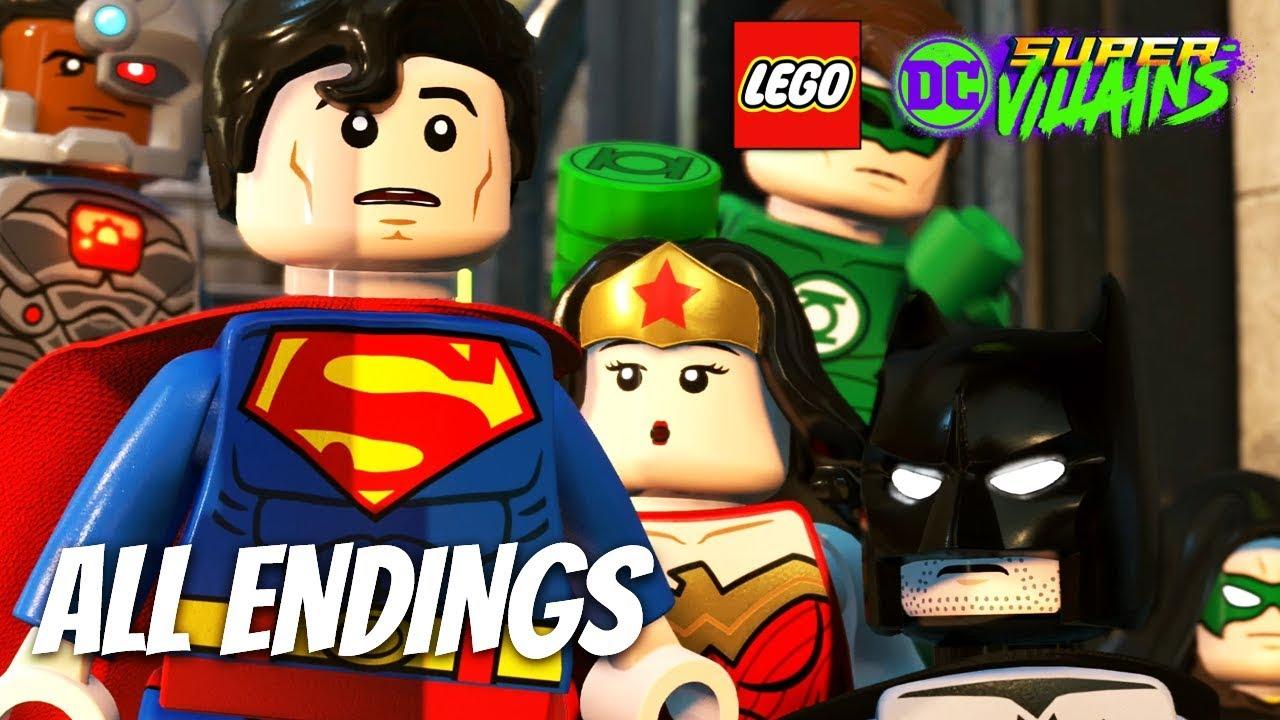 LEGO DC SUPER VILLAINS All Endings (Final Boss and Ending) 1080p 60FPS