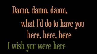 Avril Lavigne - Wish You Were Here (Acoustic Version) (with lyrics) HD