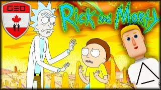 Rick & Morty Live In Virtual Reality w/ Justin Roiland | HTC VIVE (Altspace VR)