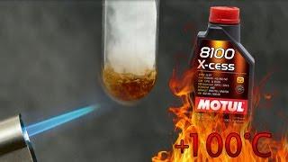 Motul 8100 X-Cess 5W40 Jak czysty jest olej silnikowy? Test powyżej 100°C