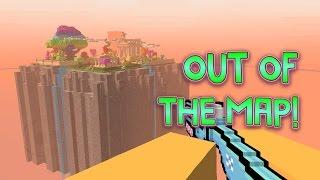 Pixel Gun 3D - Out Of The Map: Heaven Garden!
