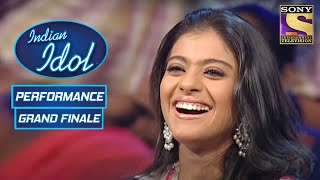 Karunya की Rocking Performance को Kajol ने किया Enjoy | Indian Idol Season 2 | Grand Finale