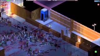 Project Zomboid Base Defense Ep. #2 - 1000 zombies!