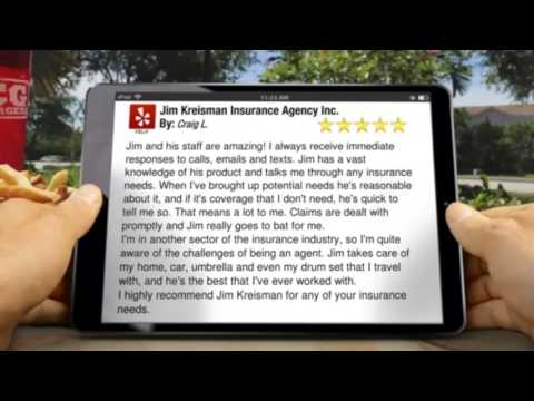 Craig's Yelp Review Jim Kreisman 5 Stars | Call Jim 480-491-8585 | Auto Home Insurance Quote