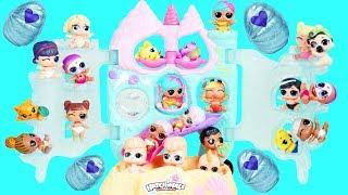 Hatchimals CollEGGtibles Mermal Magic Playset with LOL Surprise Dolls Boy Series