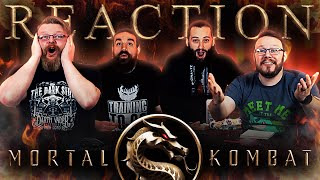 Mortal Kombat - Official Restricted Trailer REACTION!!
