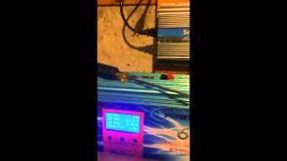 600 watt solar panel set up