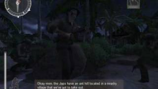 Medal Of Honor: Pacific Assault - Mission 2: Nightmoves (1/4)