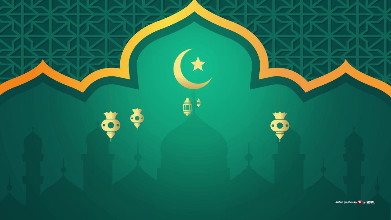 Video Background Islami + Music#31 NO TEXT Eid Mubarak Greeting (background  Video Idul Fitri) - YouTube