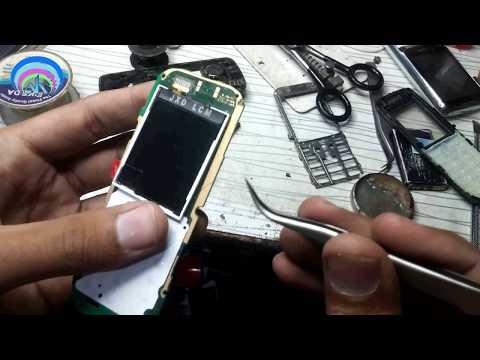 Nokia 110 LCD Light Problem Solved