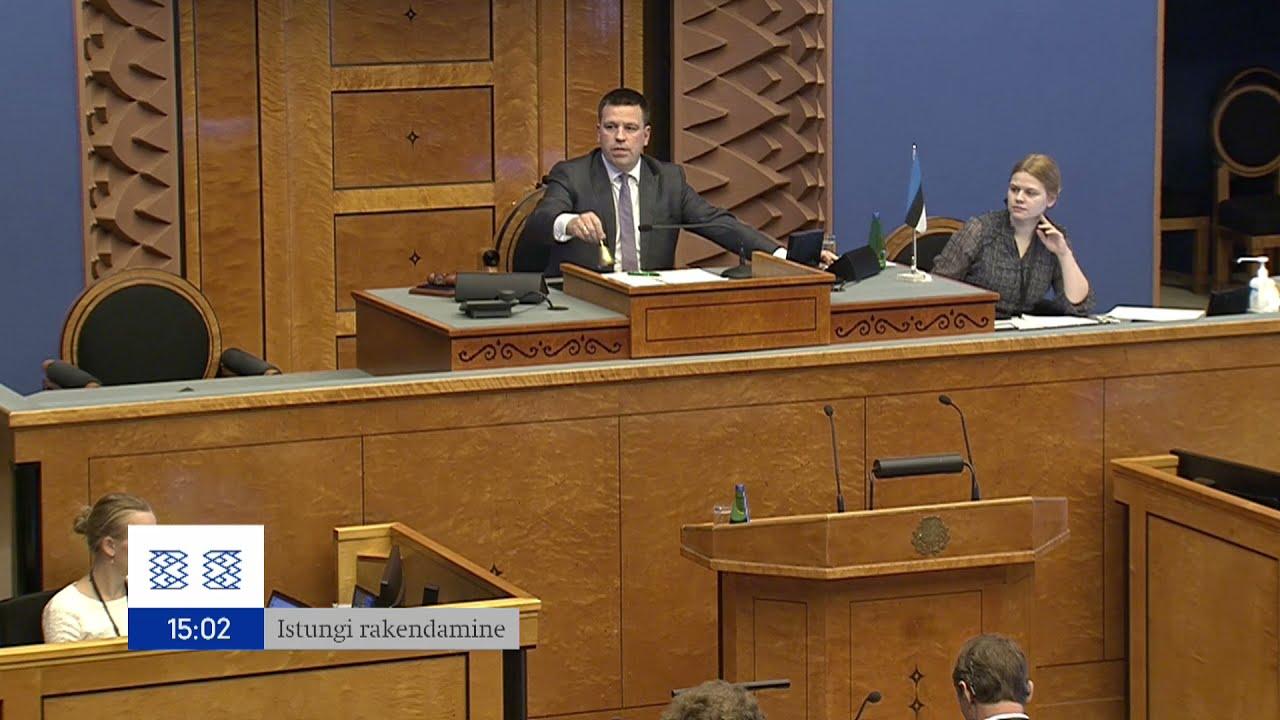 Download Riigikogu istung, 18.10.2021
