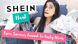 SHEIN HAUL | SUMMER CLOTHES & PARTY OUFITS | Sana K
