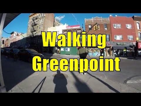 ⁴ᴷ Walking Tour of Brooklyn, NYC - Greenpoint to Long Island City, Queens via Manhattan Avenue