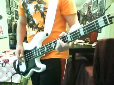 The Distillers - City of Angels Bass Cover