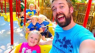CELEBRATING 1000 DAYS OF DAILY VLOGS AT KNOTTS BERRY FARM! TRIP TREASURE HUNT!