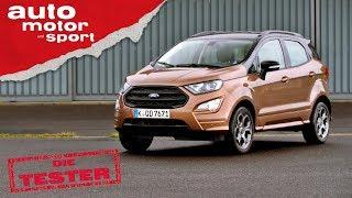 Ford Ecosport (2019): Warum steht da Sport drauf? - Die Tester | auto motor und sport