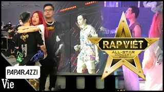 Rap Việt All-Star Concert: Trấn Thành - Binz tập luyện hăng say, MCK-TLinh ôm nhau giỡn đụng GDucky